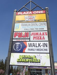 Community Care Clinic Map in Downtown Ft. McMurray